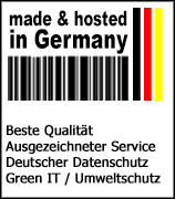 made & hosting in Germany